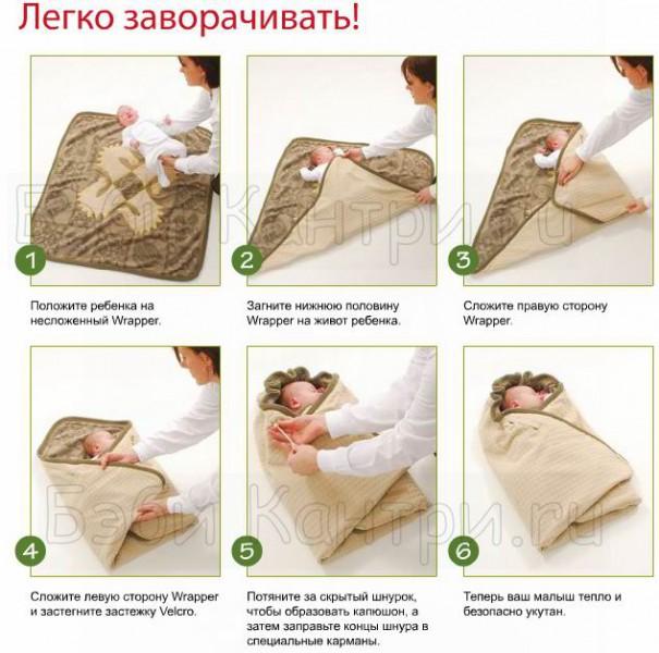 Как сделать из одеяла конверт для выписки 221