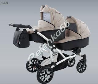 Детская универсальная коляска для двойни Bebetto 42
